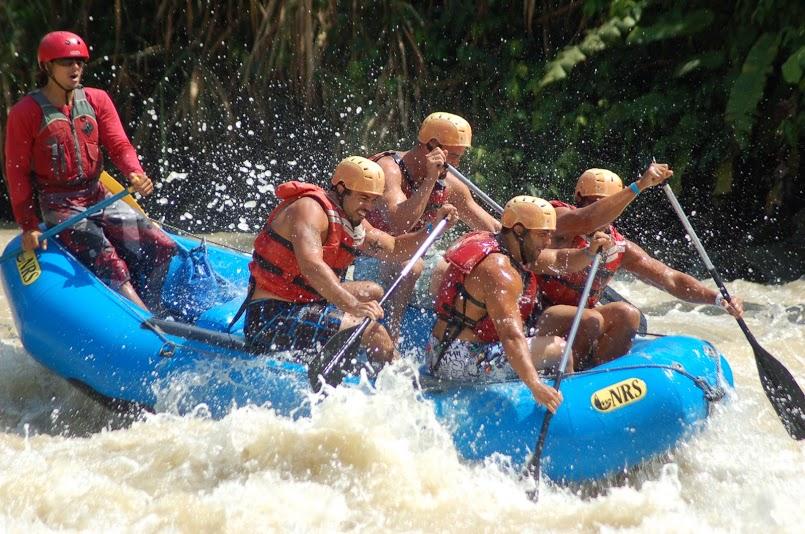 Rafting tour rio naranjo jaco beach costa rica