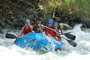 Savegre white water rafting