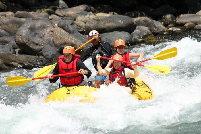 Naranjo White Water Rafting Tour